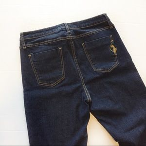 Baby Phat Silver Label Flare Leg Jeans Size 16